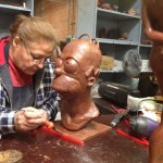 Homer bust creation